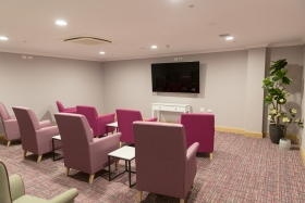 East Wing media lounge